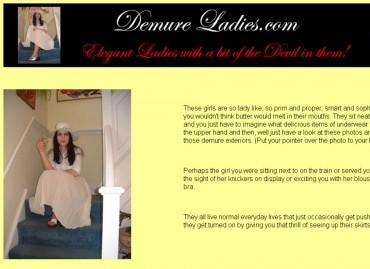 Demure Ladies