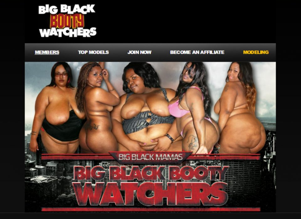 Big Black Booty Watchers
