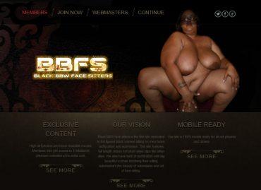 Black BBW Face Sitters