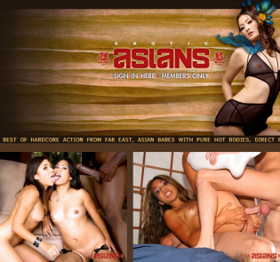 High quality asian porn paysite with erotic content
