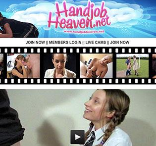 Amazing porn website featuring stunning handjob stuff