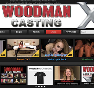 Nice porn website offering awesome casting stuff