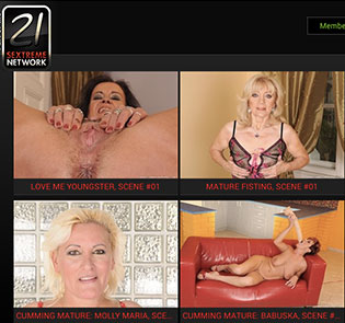 Nice porn site providing awesome granny material