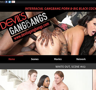 Amazing adult site offering hot gangbang content