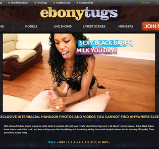 Best ebony porn site for blowjob and handjob scenes