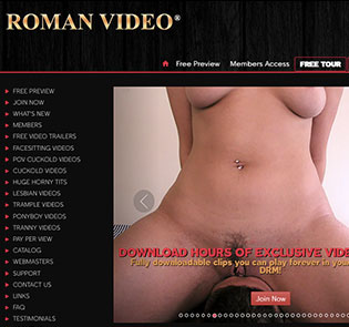 Best porn website if you want stunning femdom Hd porn videos