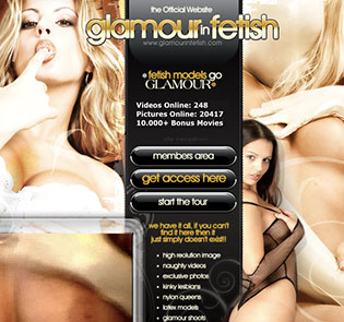 Great xxx website if you're into awesome glamcore quality porn