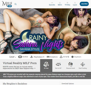 Good VR porn site for MILFs lovers.